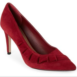 Tahari Crimson Banter Pointed Toe Pumps, SIZE 8